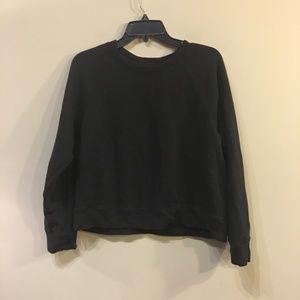 Lou & Grey Black Soft Sweatshirt